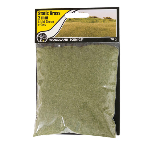 Static Grass - 2mm Medium Green