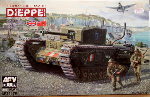 Churchill Mklll Dieppe Raid