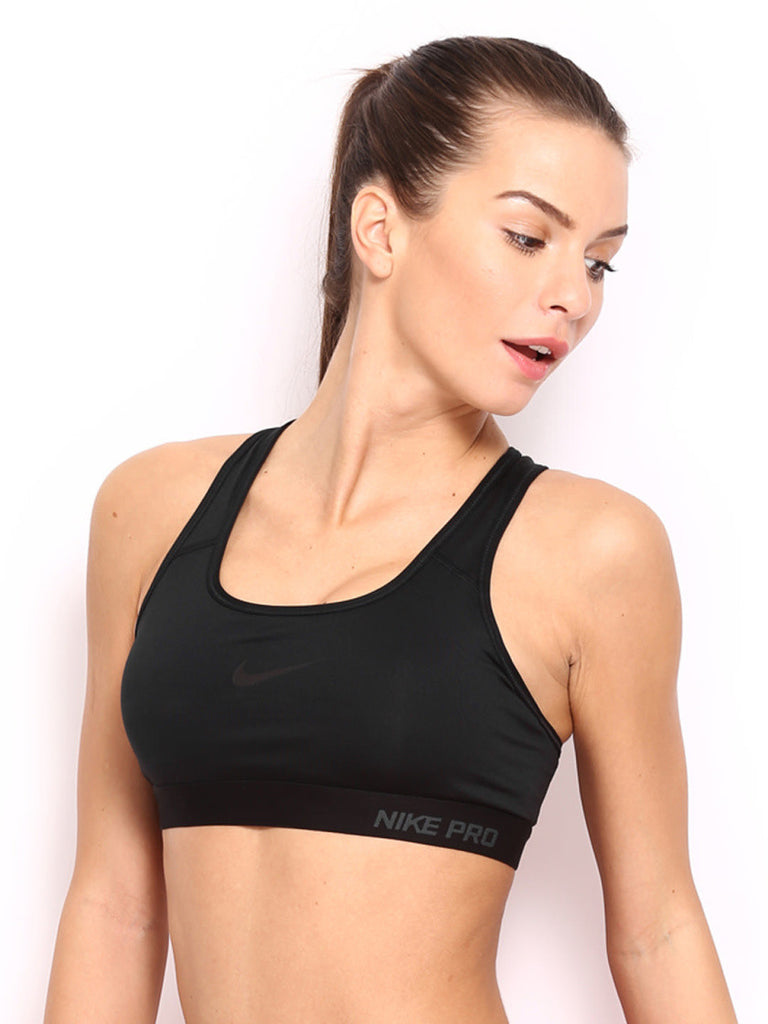 Nike Black Pro Classic Padded Training Sports Bra – teststore 10918ba73