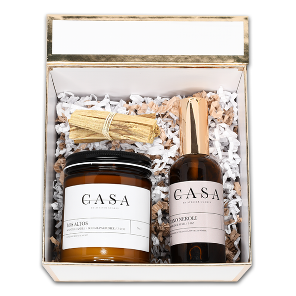 ESSENTIALS AMBER HOLIDAY GIFT SET