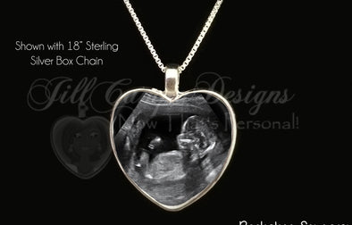 Baby Sonogram Jewelry is really a thing!