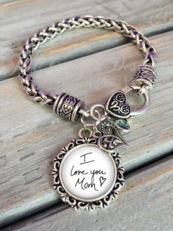 Personalized Handwriting Bracelet - Using your personalized handwriting