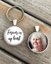 MEMORIAL KEYCHAIN - Forever in my heart