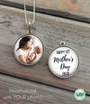 My First Mother's Day necklace - custom photo necklace
