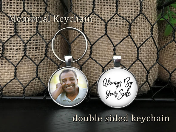 Memorial Keychain - always by your side