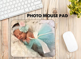 Photo mouse pad - custom photo mouse pad - office accessories