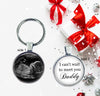 Sonogram New Daddy Keychain