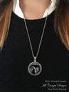 Baby Sonogram Necklace, Ultrasound Pendant - Pregnancy Gift , New Baby - Jill Campa Designs - Now That's Personal!  - 2
