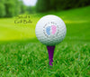 "GOLF BALLS, ""Can't wait to meet you Daddy"" - Baby announcement"