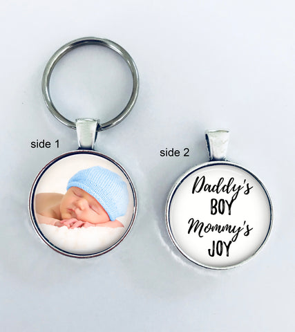 NEW BABY GIFT - Baby Boy- Daddy's boy, Mommy's joy