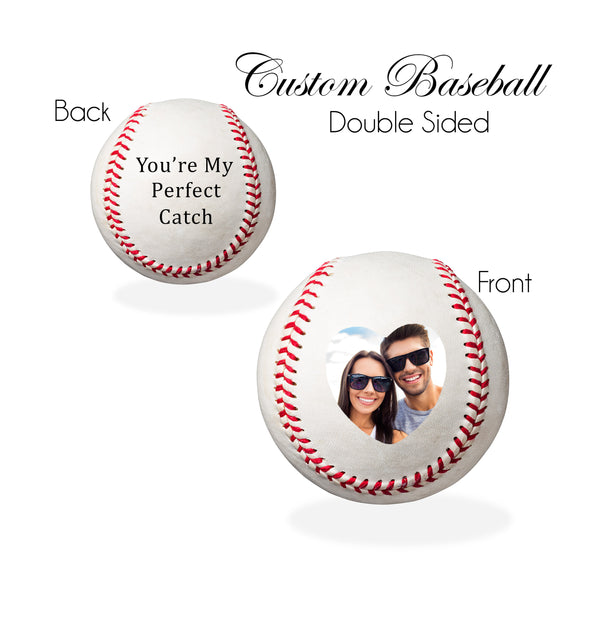 Personalized Baseball - You're My Perfect Catch
