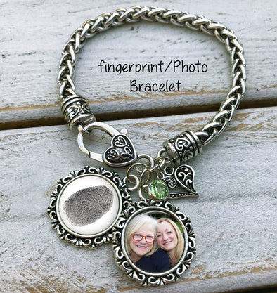 Fingerprint and Photo Bracelet