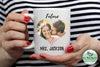 Future Mrs. coffee mug personalized with your last name