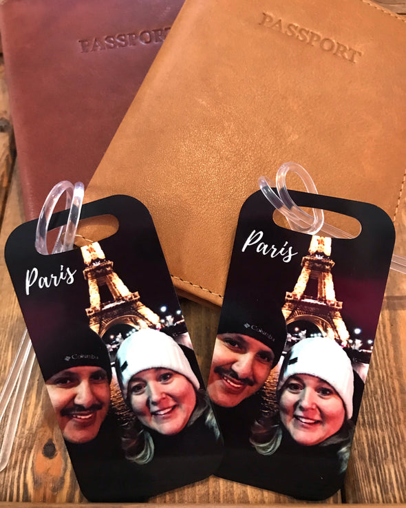 Photo Luggage Tag-Custom with your Photo and Personal Info
