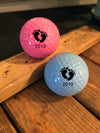 Baby Feet golf balls - Baby announcement