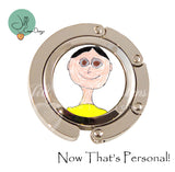 Gift for Teacher - child's artwork or handwriting on a purse hanger - Personalized purse hanger - Jill Campa Designs - Now That's Personal!  - 1