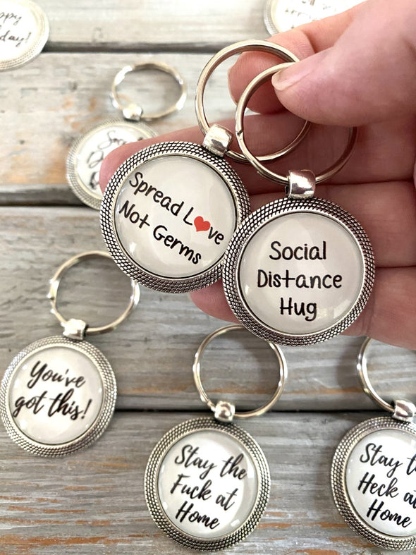 Social Distancing Key chain