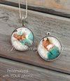 Personalized Double sided Photo Necklace