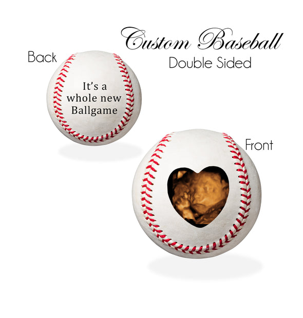 PREGNANCY REVEAL Baseball - It's a Whole New Ballgame