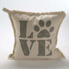 Love My Pooch Pillow
