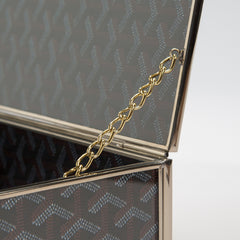 Goyard Inspired Storage Box — Small