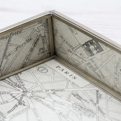 Map of Paris Tray