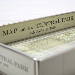 Map of Central Park Tray