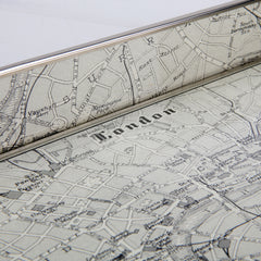 Map of London Tray