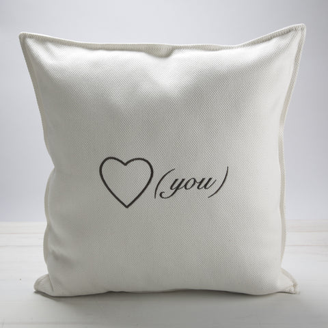 I (heart) You Pillow