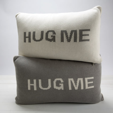 Hug Me Pillow — Grey