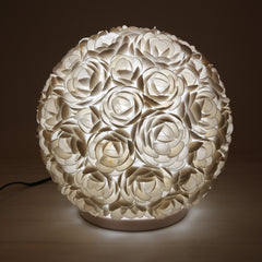 Shell Orb Table Lamp