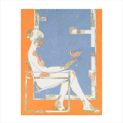 Muse to Muse Giclée by Michael Manwaring