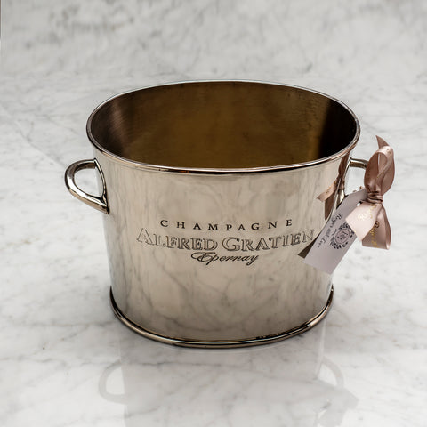 Engraved Vintage Style Champaign Bucket