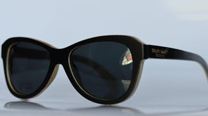 artist-anon - Wise Owl Bamboo Sunglasses - Sunglasses