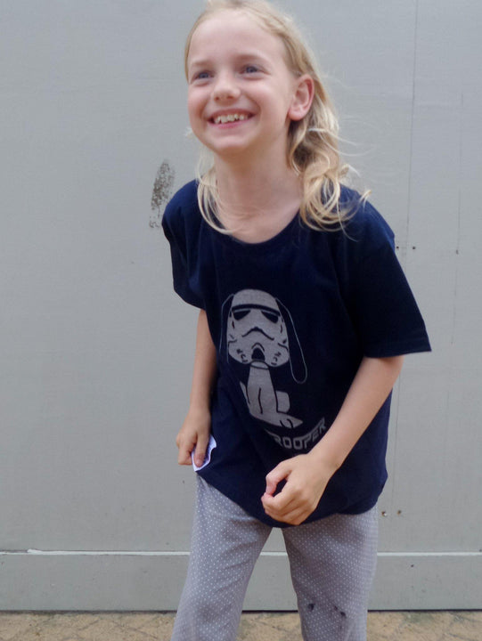 Kid's Snoopytrooper t-shirt - Artist Anon Brighton - Kids -  - 3