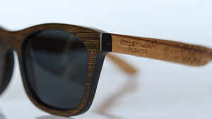 Curiously Grey Bamboo Sunglasses - Sunglasses - Bamboo - Artist Anon Brighton