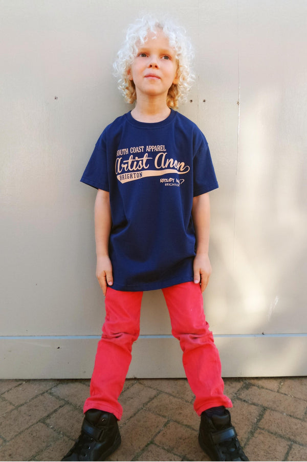 Kid's So Cal Navy t-shirt