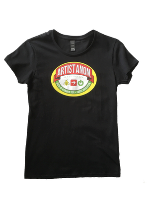 Artist Anon Mymite Womens, T-Shirt - Artist Anon Brighton Clothing
