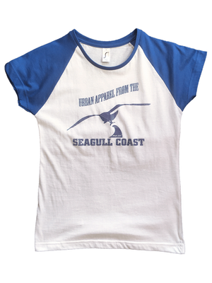Seagull Coast Womens, T-Shirt - Artist Anon Brighton Clothing