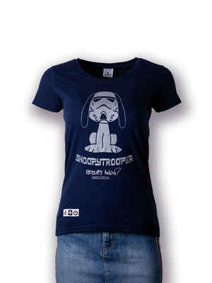 Snoopy Trooper Women's T-shirt - T-Shirt - Women's - Artist Anon Brighton