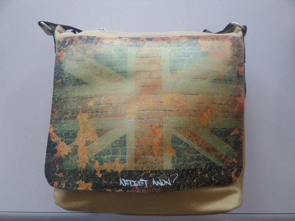 Artist Anon Union Flag Messenger Bag
