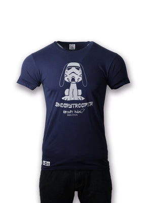 Snoopy Trooper Tshirt - T-Shirt - Men's - Artist Anon Brighton