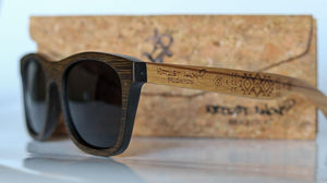 Artist Anon Brighton - Curiously Grey Bamboo Sunglasses - Sunglasses - Bamboo