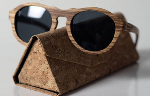 Artist Anon Brighton - Heritage Zebra Wood Sunglasses - Sunglasses - Bamboo