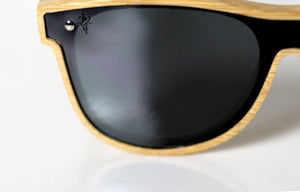 Artist Anon Brighton - Hyped Natural Bamboo Sunglasses - Sunglasses - Bamboo