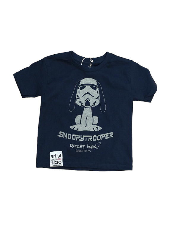 Kid's Snoopytrooper t-shirt