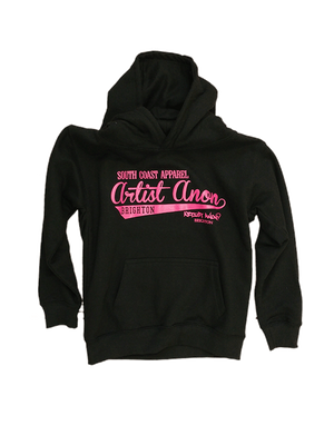 artist-anon - Kid's So Cal Hoodie Black - Kids