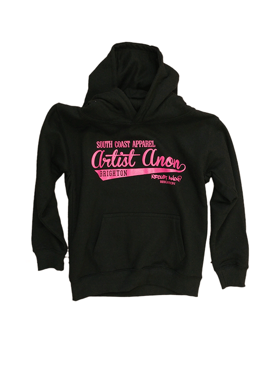 Kid's So Cal Hoodie Black - Artist Anon Brighton - Kids -  - 1