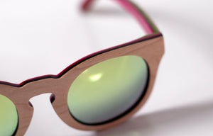 Artist Anon Brighton - Thoughtful Maple Woodie Sunglasses - Sunglasses - Bamboo