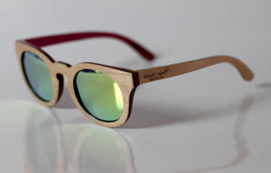 Thoughtful Maple Woodie Sunglasses